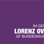 Lorenz Overbeck im Gespräch mit Katarina Peranic