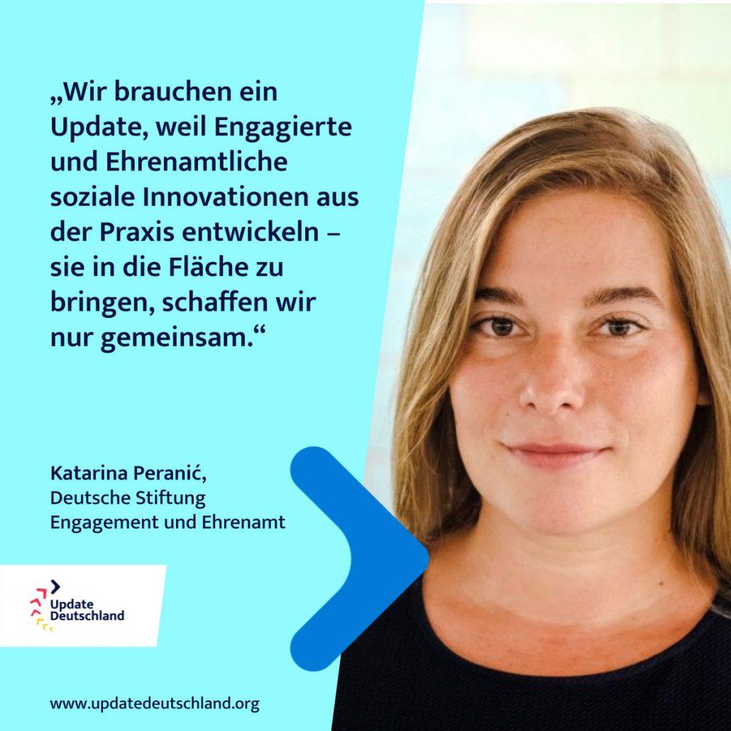 Katarina Peranic Update Deutschland