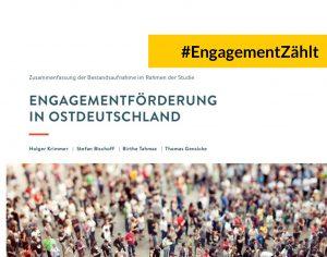 Engagementförderung in Ostdeutschland