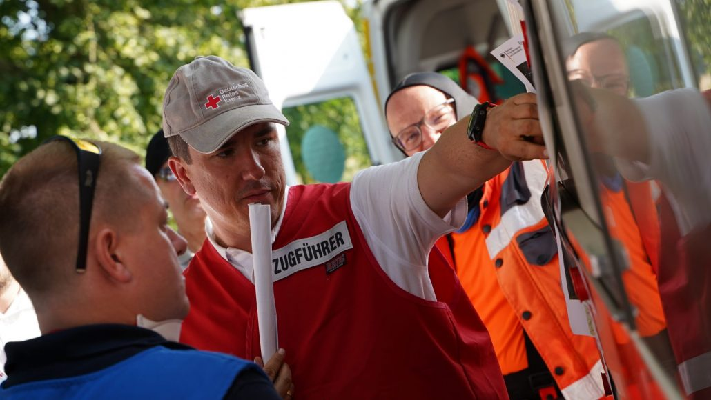 Dennis Busch Rotes Kreuz