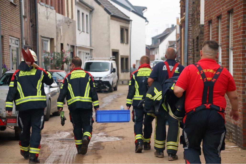Einsatz der Feuerwehr Panketal in Erftstadt